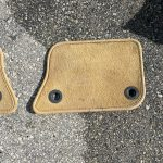 03 - 10 Bentley Continental GT Front Left+Right Driver Carpet Floor Mat Cover Liner