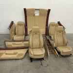 Bentley Continental GT Mulliner Front&Rear Seats, Pannels & Headliner