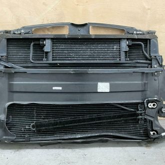 04-09 Bentley Continental GT GTC Radiator Support Cooling Fan AC Condenser