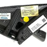 Aston Martin DBs Right Mirror Base, Carbon fiber, Part number: 8D33-17E742-AA