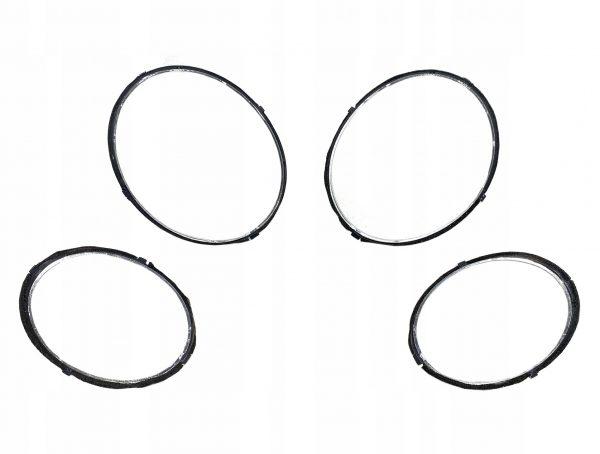 Bentley Bentayga Headlight Chrome Rings Set