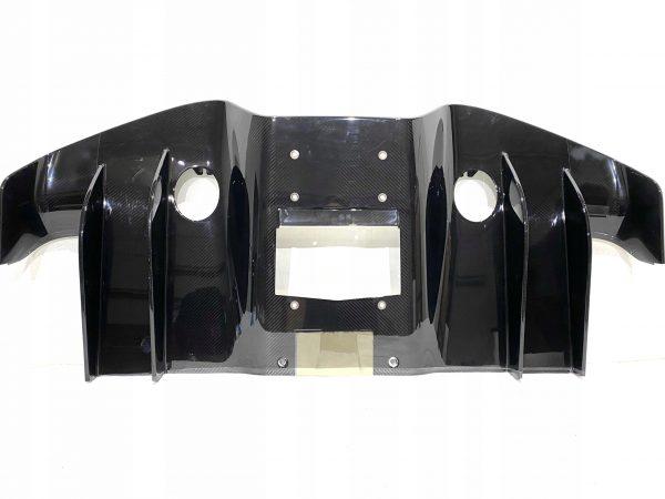 Bugatti Chiron Rear Diffuser, Carbon Fiber