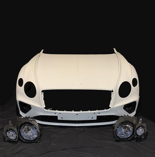 Bentley NEW Continental GT front end, Part number 3SD823031