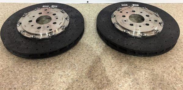 Ferrari 458 & California T Brake Discs Rotors Ceramic