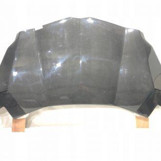 Lamborghini Aventador Front Hood Bonnet Flap Novitec Torado Full Carbon
