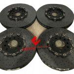 Lamborghini Aventador Brake Discs Rotors Set New