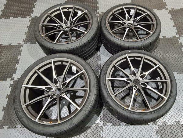 McLaren 765LT Full Titanium Wheels Set
