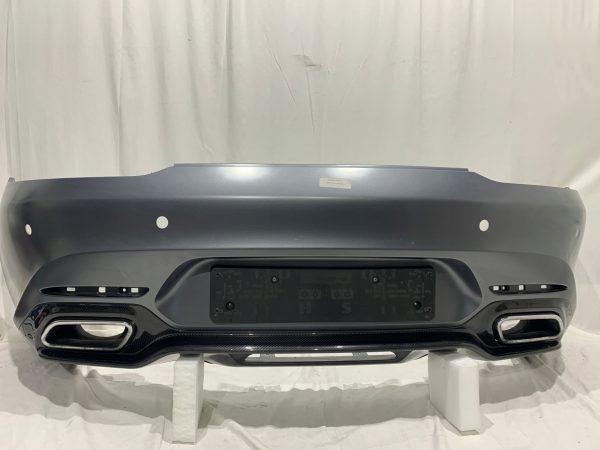 Mercedes Benz AMG GT Rear Bumper Complete Carbon Diffuser