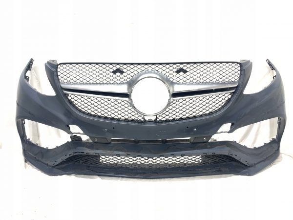 Mercedes Benz GLE Front Bumper With Grill