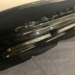 Mercedes Benz S63 AMG W222 Rear Bumper With Black Tips
