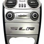 Mercedes SLR McLaren 722 A199 Center Console AC Climate Control Panel Bezel Part No.: 2308300054