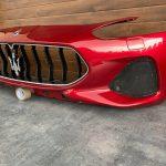 Maserati Granturismo front bumper, Red, Part number: 980145728