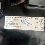 McLaren 650 675 Left Front Headlamp Driver Side