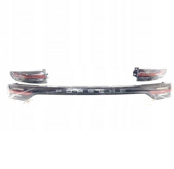 2020 Porsche Cayenne Tail Light Complete 9Y0945081F, 9Y0945095G, 9Y0945096H