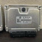04-08 Bentley Continental GT Immobilizer Ignition Key KESSY DME ECU OEM