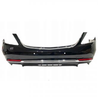 Mercedes Benz S 600 Maybach W222 Rear Bumper With Middle Chrome A2228850025